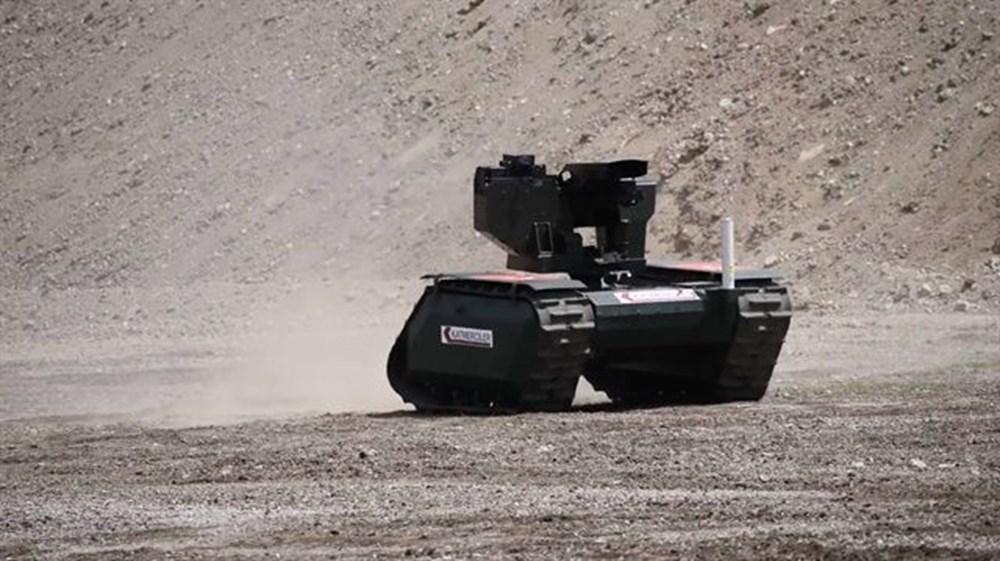 Dijital birliğin robot askeri Barkan göreve hazırlanıyor (Türkiye'nin yeni nesil yerli silahları) - 242