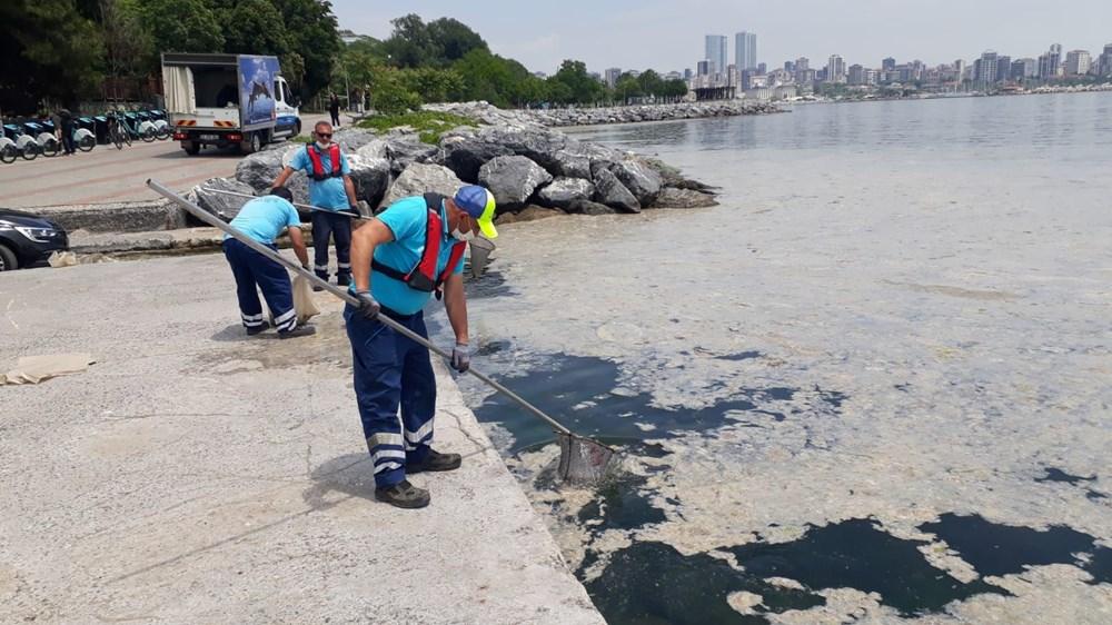 İstanbul'un sahilleri müsilajla doldu: 95 yıldır böyle bir şey görmedim - 7