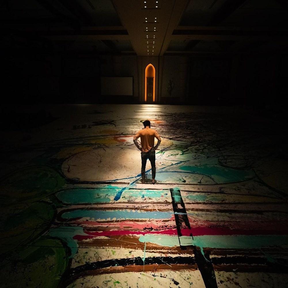 Ressam Sacha Jafri rekora koşuyor - 2