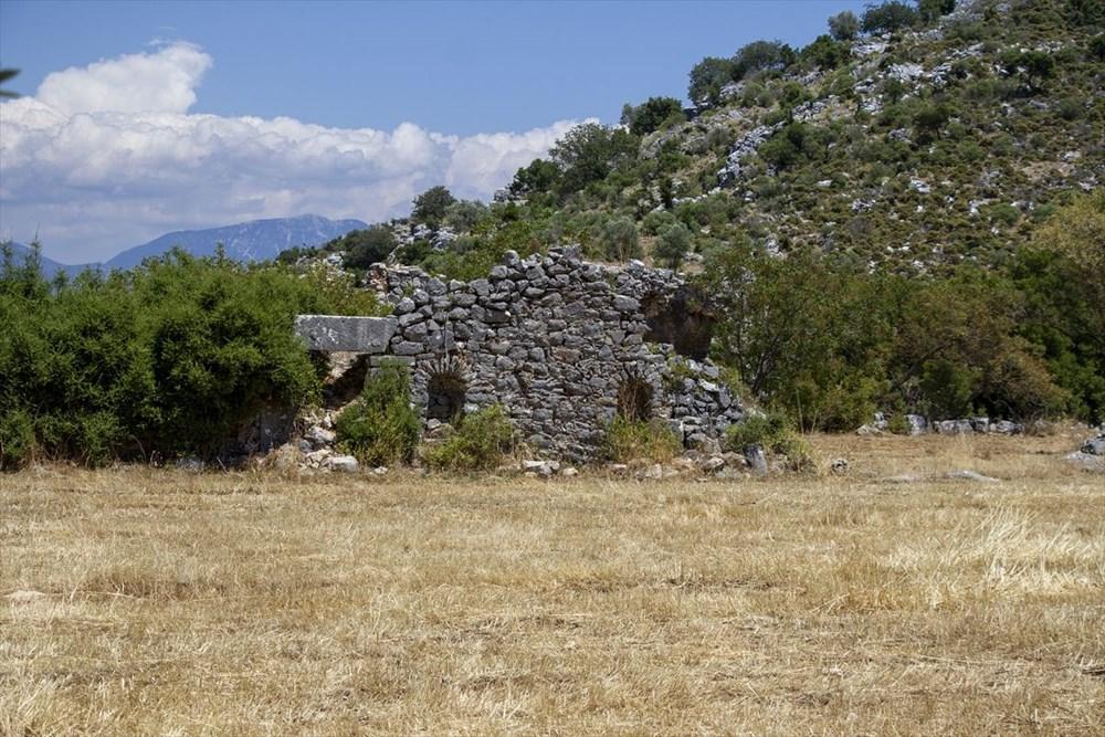 2 bin yıllık Sidyma Antik Kenti içinde yerleşik hayat - 17