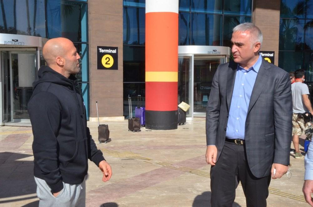 Bakan Mehmet Nuri Ersoy'dan Five Eyes film setine sürpriz ziyaret - 3