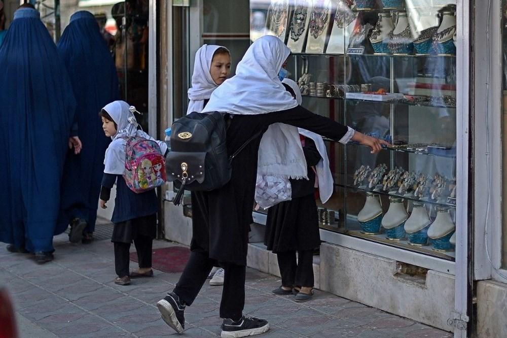 Afganistan'da ekonomi çökmek üzere: Halkın sadece yüzde 5'i yeterli  yiyeceğe erişebiliyor - 8