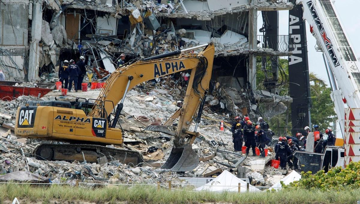 ABD'de çöken bina: Can kaybı 10'a yükseldi