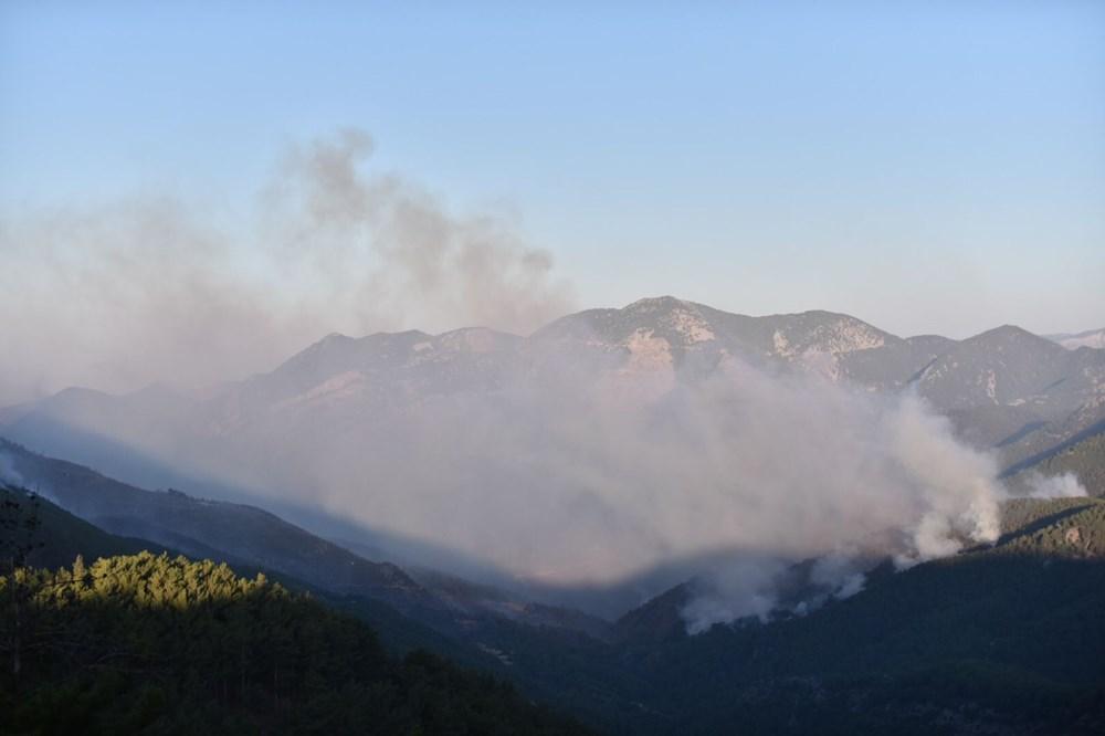 Hatay ve Mersin'de orman yangını - 15