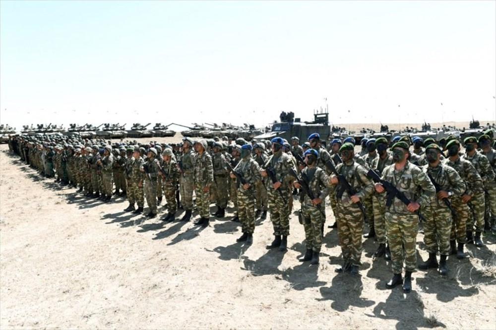 Türkiye ve Azerbaycan'dan savaş sahnelerini aratmayan tatbikat - 3