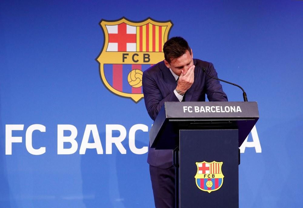 Bir devrin sonu: Lionel Messi, Barcelona'ya gözyaşları içinde veda etti - 5