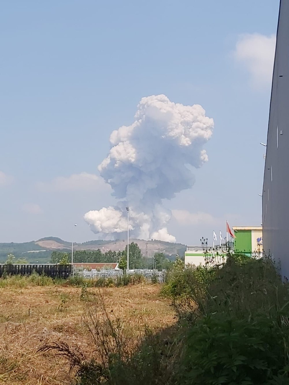 Sakarya'da havai fişek fabrikasındaki patlamadan fotoğraflar - 7
