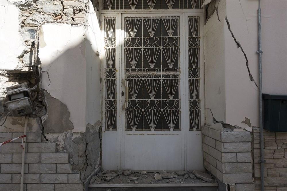 Depremin vurduğu Yunan adası Sisam'da son durum - 32