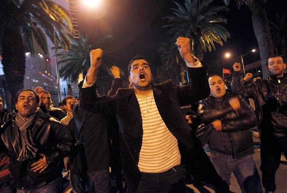 Tunus'taki isyan
