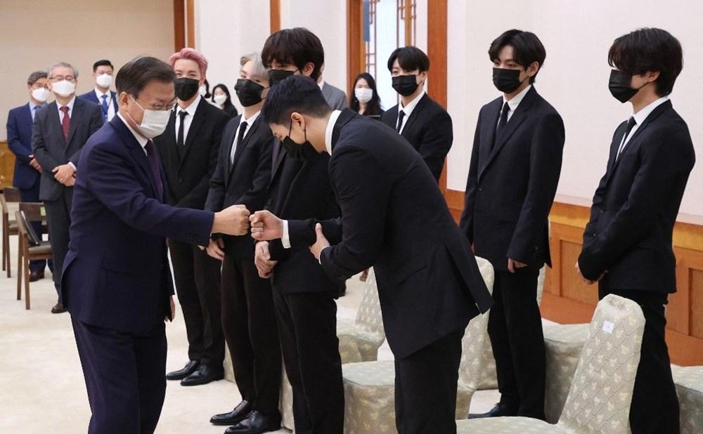 BTS grubu Birleşmiş Milletler Genel Kurulu'nda konuştu - 3