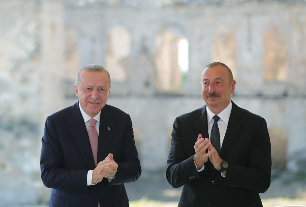 Cumhurbaşkanı Erdoğan ve Aliyev Şuşa Beyannamesi'ni imzaladı - 17