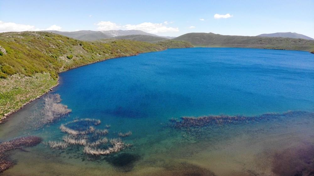 Muş'ta Hamurpet Gölleri görenleri doğasıyla mest ediyor - 4