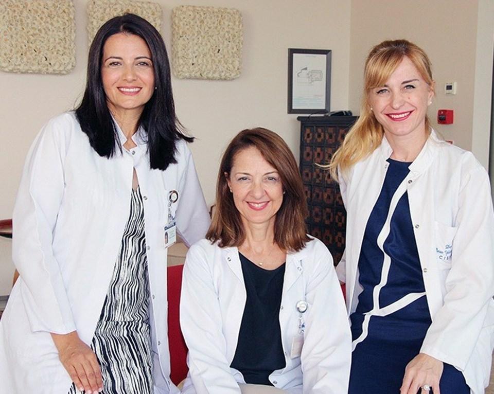 Doç. Dr. Elif Ilgaz Aydınlar, Prof. Dr. Ayşe Sağduyu Kocaman,Doç. Dr. Pınar Yalınay Dikmen.
