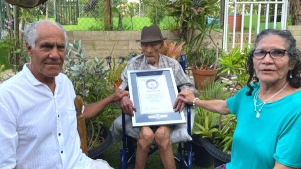 Guinness duyurdu: Yaşayan en yaşlı erkek açıklandı - 3