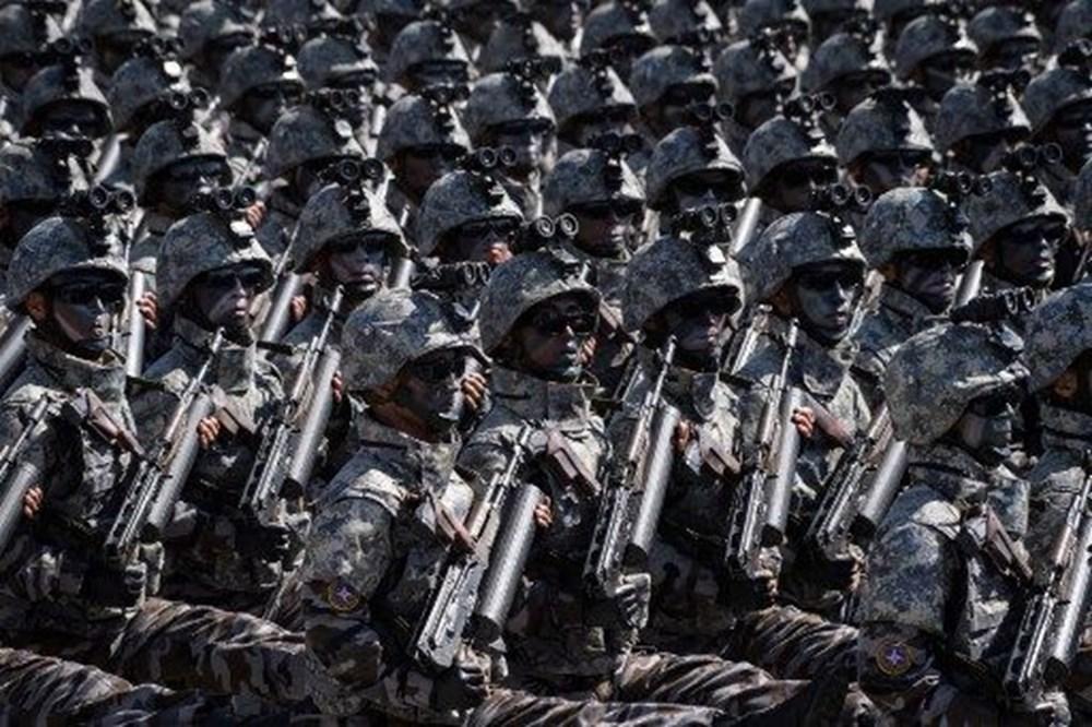 Kuzey Kore tarihi geçit törenine hazırlanıyor - 14