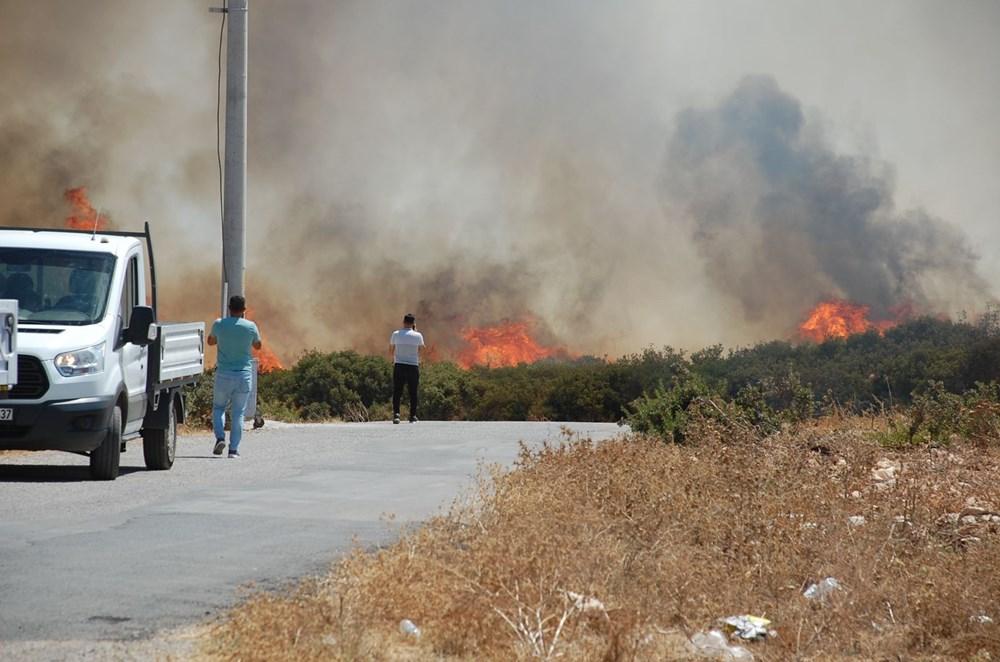 Antalya, Adana, Mersin, Aydın, Muğla, Osmaniye, Kayseri ve Manisa'da orman yangınları - 32