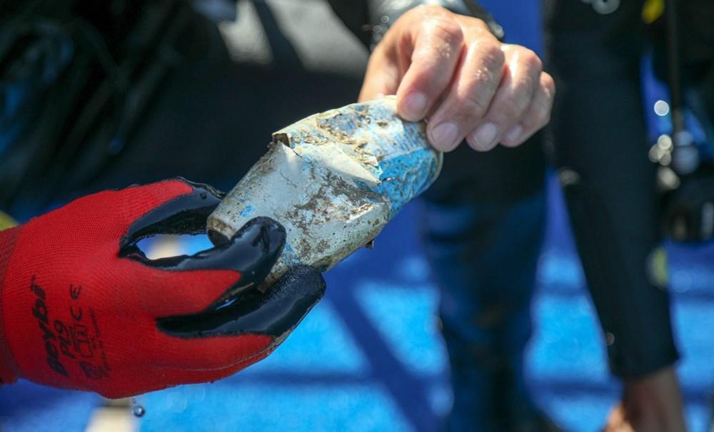Deniz tabanı maske ve eldiven dolu - 6