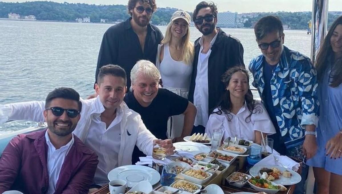 Can Yaman ve sevgilisi Diletta Leotta İstanbul'da: Ailesiyle tanıştırdı