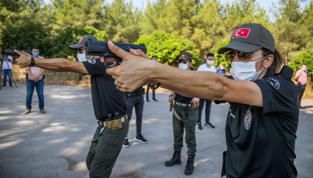 40 derece sıcakta, maskeyle eğitim - 2