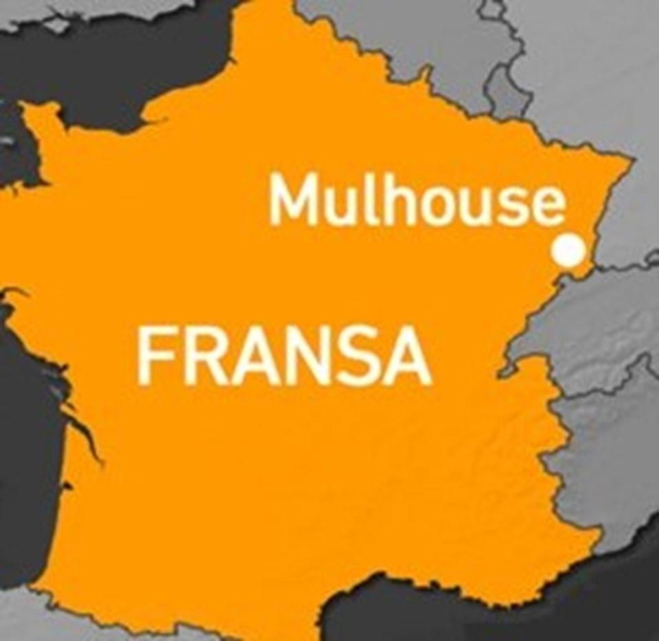 Mulhouse kenti Fransa'nın İsviçre ve Almanya sınırlarının kesişim noktasında yer alıyor.