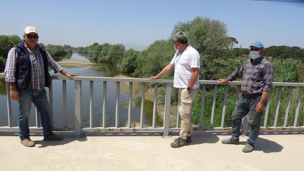 Büyük Menderes Nehri kurudu - 5