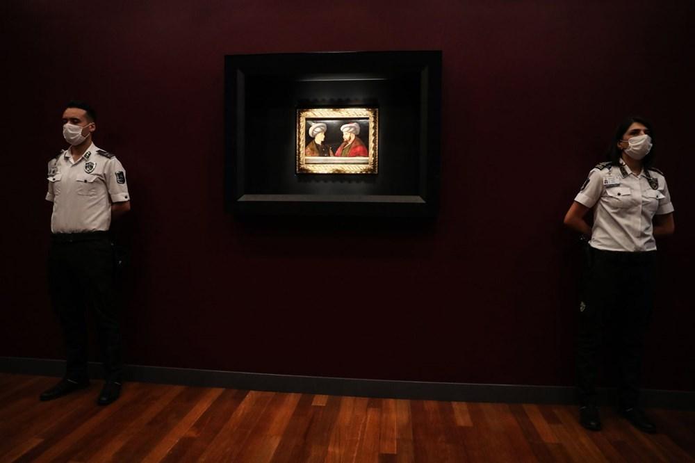 Fatih Sultan Mehmet'in tablosu ilk kez gösterildi - 2