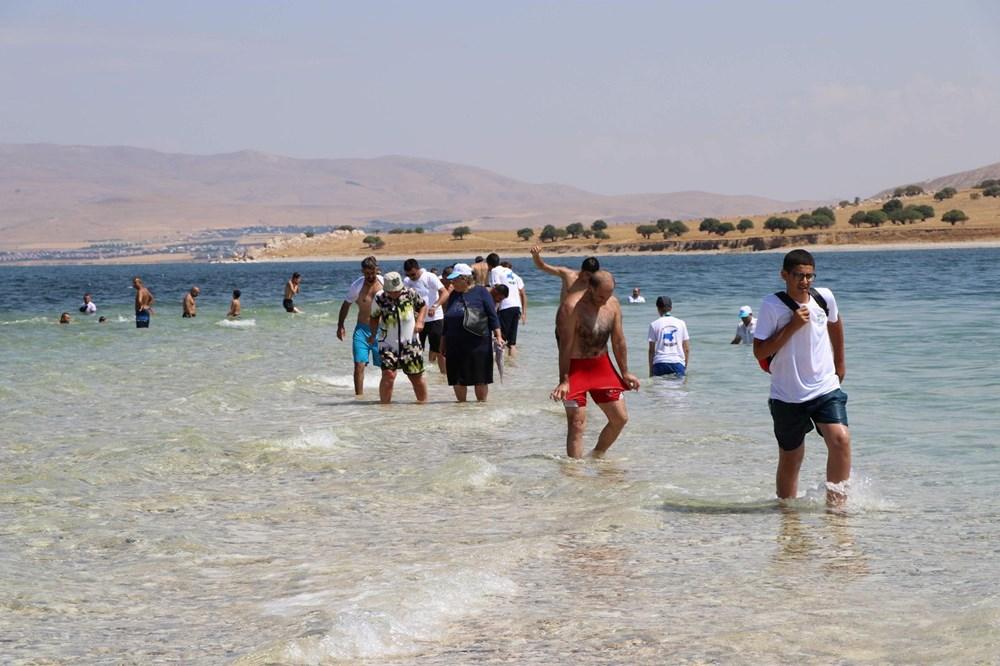Su altındaki antik yoldan Çarpanak Adası'na ulaştılar - 7