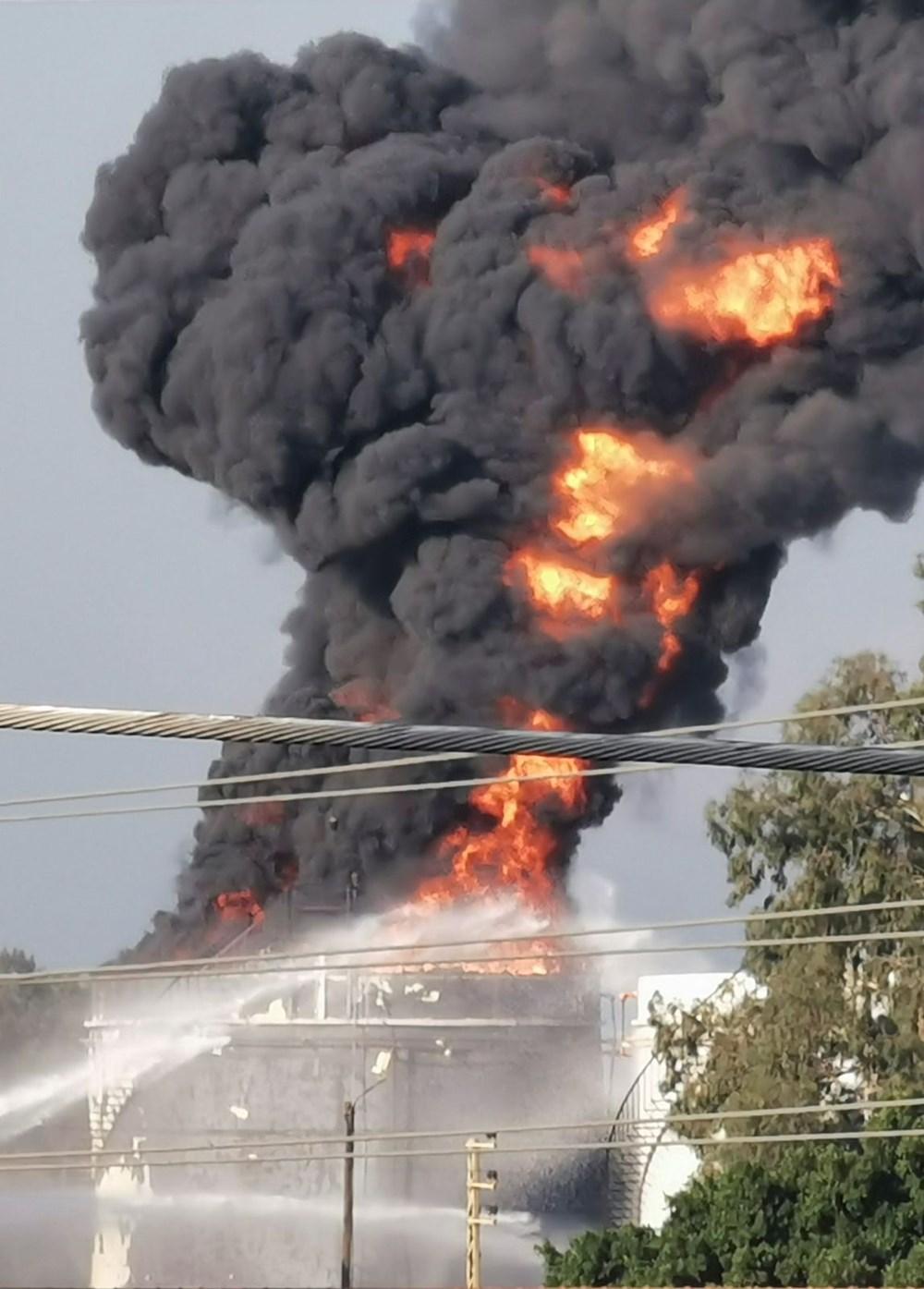 Lübnan'da petrol tesisinde yangın - 2