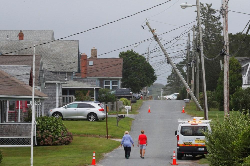 ABD'de Henri Kasırgası etkili oluyor: 140 bin haneye elektrik verilemiyor - 7