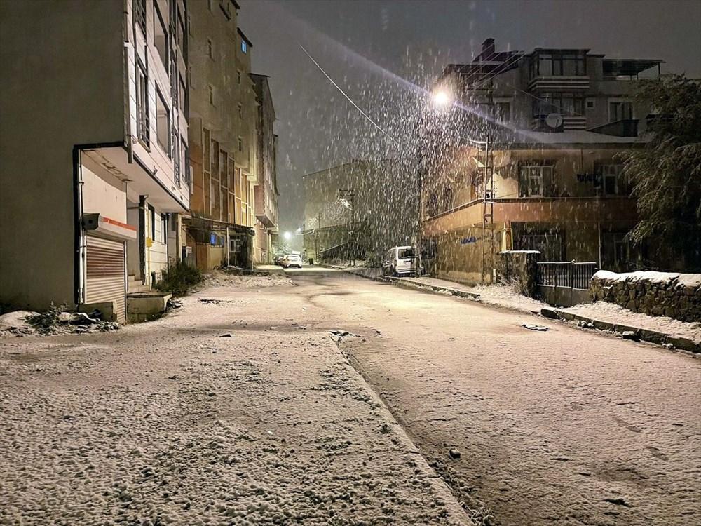 تساقطت الثلوج الأولى من الموسم في أرداهان - 8