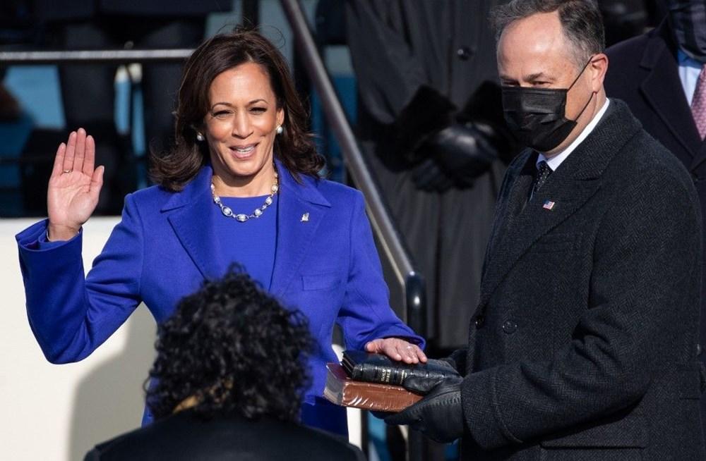 ABD tarihinin ilklerinin sahibi yemin etti: 'Kamala Harris'in köyü' büyük sevinç içerisinde - 1