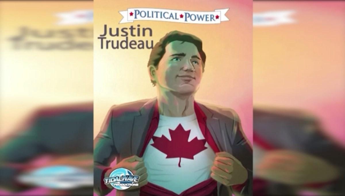 Trudeau,  çizgi roman kahramanına dönüştü