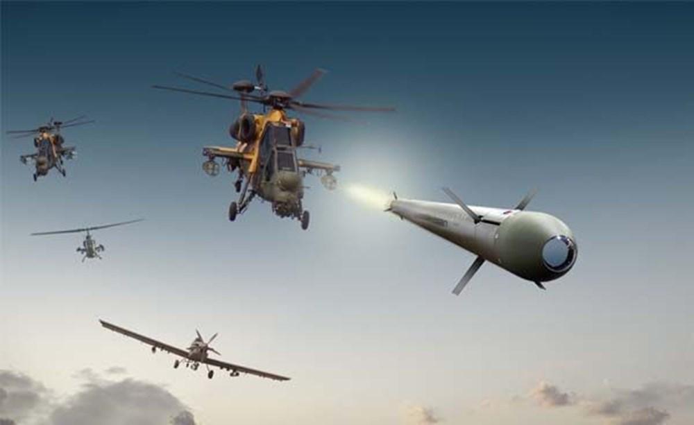 TSK'nın yeni roketatarı 12'den vurdu - 168