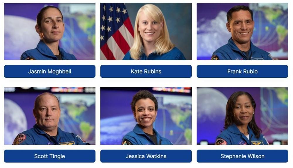 NASA, Ay'a gidecek 18 kişilik ekibi açıkladı - 5