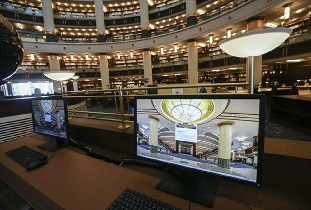 Cumhurbaşkanlığı Millet Kütüphanesi'ni 1 yılda yaklaşık 342 bin kişi ziyaret etti - 3