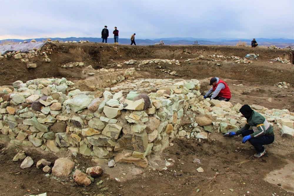 Amasya'da 2 bin 600 yıllık 'Kubaba Sunağı' keşfedildi - 7