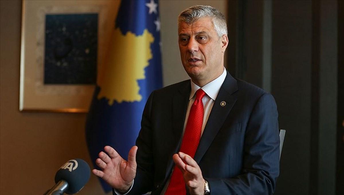 Savaş suçuyla itham edilen Kosova Cumhurbaşkanı Haşim Thaçi görevinden istifa etti