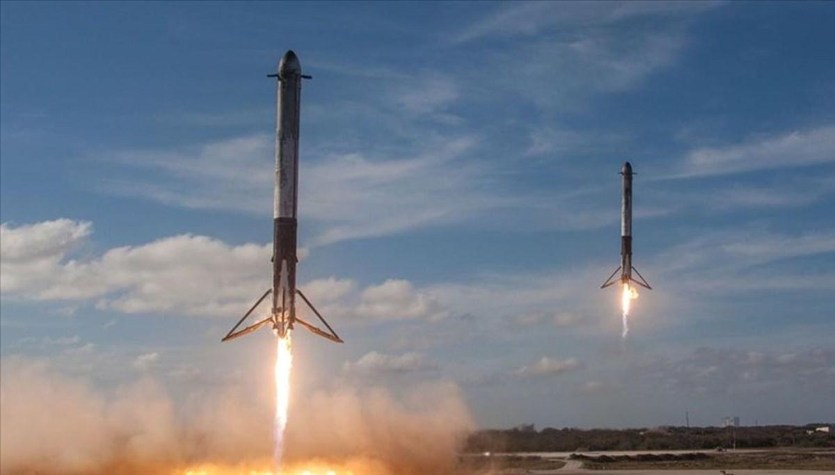 SpaceX roketinin parçası Washington'a düştü