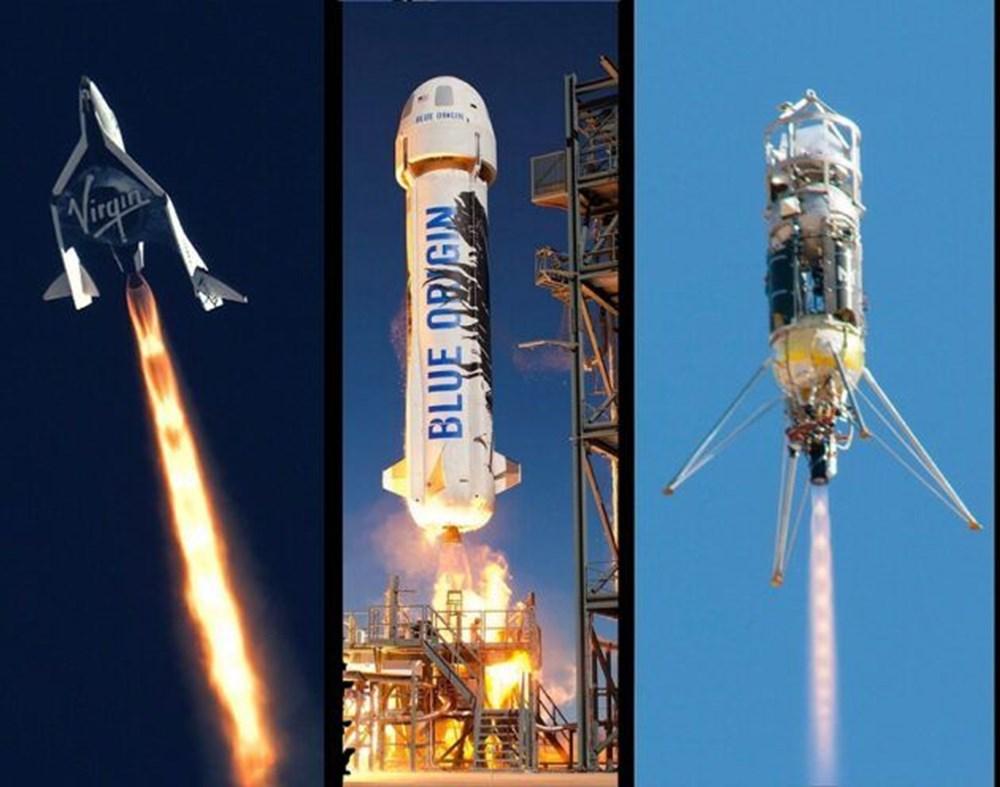 Blue Origin uzay için tarih verdi: 1 koltuk satışta - 6