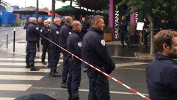 Fransa-İzlanda maçı öncesi stat çevresinde patlama