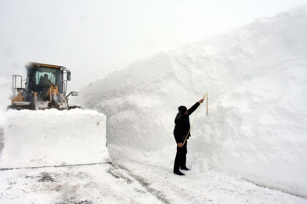 'Kar kaplanları'nın 5 metre karla mücadelesi - 2