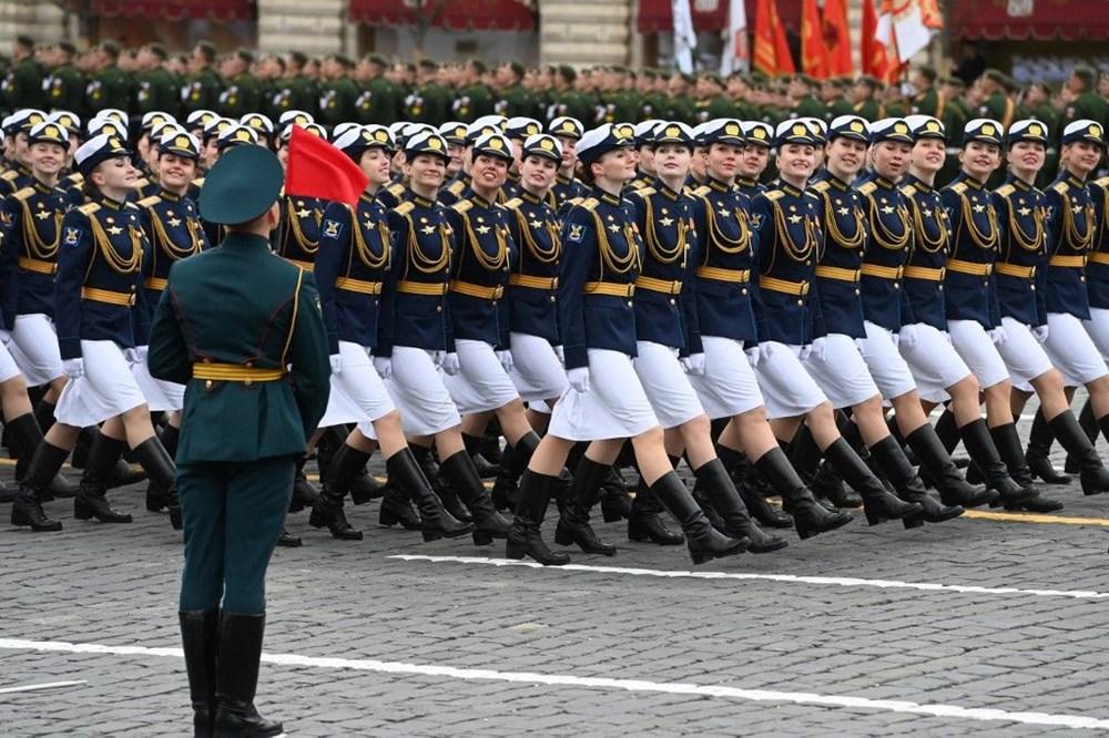 Rusya'da Zafer Günü kutlamaları: Moskova'da askeri geçit töreni - 11