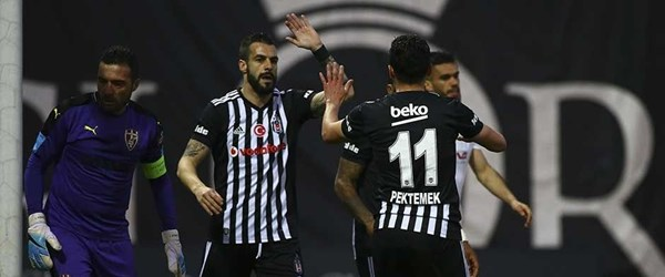Gol düellosu Beşiktaş'ın!