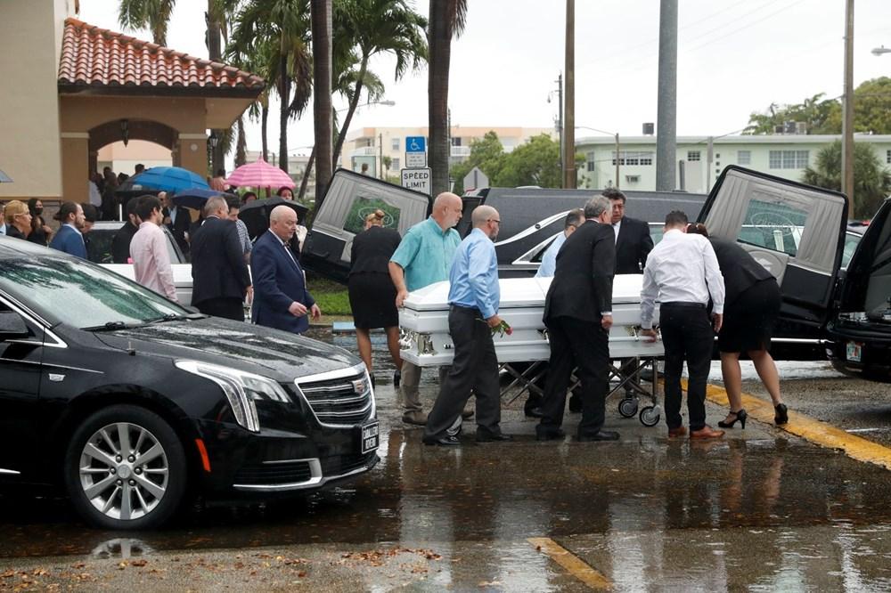 Bir aile yok oldu: Miami'deki çöken binada hayatını kaybedenler için ilk cenaze töreni düzenlendi - 2