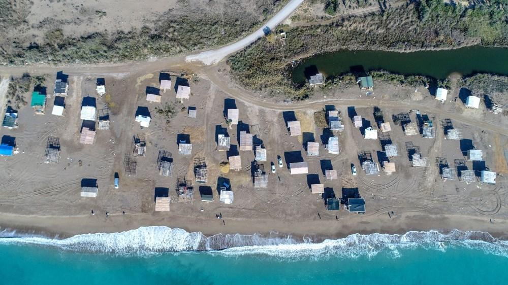 Lüks tatilin bedavaya sunulduğu 'Çardak Beach' çöplük oldu - 2