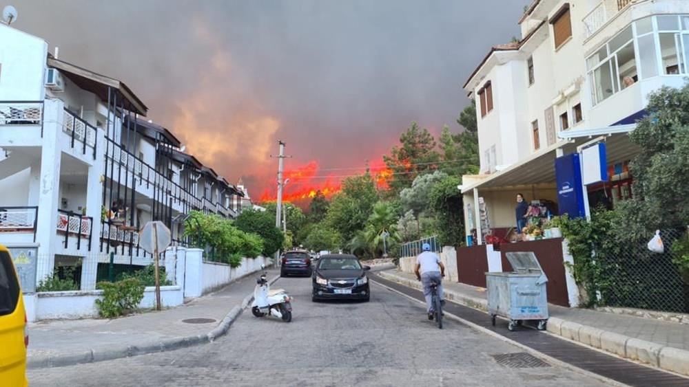 Antalya, Adana, Mersin, Aydın, Muğla, Osmaniye, Kayseri ve Manisa'da orman yangınları - 25