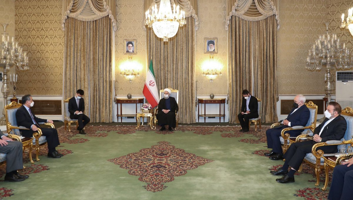 Iran and China signed a 25-year cooperation agreement