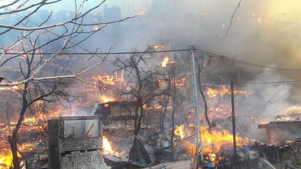 Artvin'deki yangın kontrol altında - 9