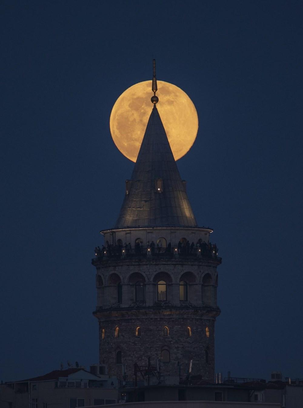 Yurttan 'Süper Solucan Ay' manzaraları - 14