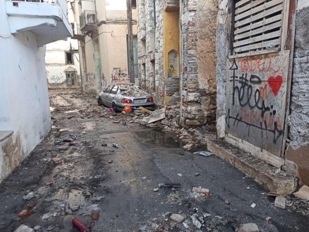 Depremin merkez üssü Yunan adası Sisam'dan ilk fotoğraflar - 5